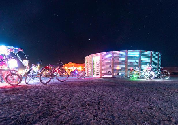 Steam of life - Burning Man