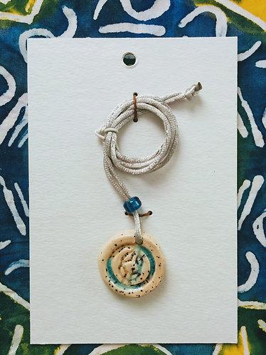 Adinkra Necklace (Wisdom Knot)