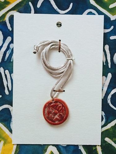 Adinkra Necklace (Abundance)