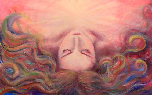 "16/10 inch print of ""Dreamer"""