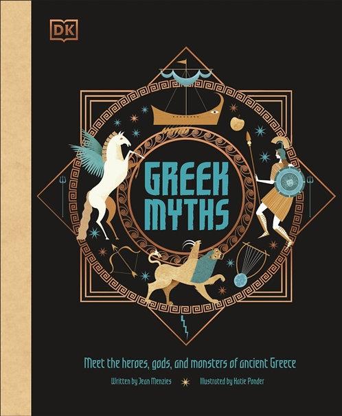 Greek Myths by Jean Menzies & Katie Ponder