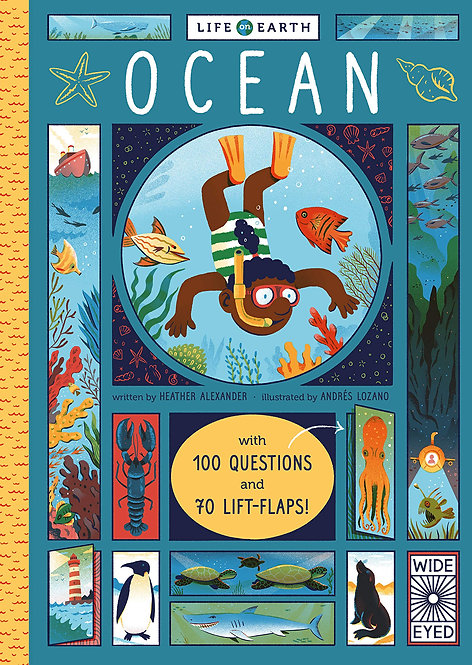Life on Earth: Ocean: With 100 Questions and 70 Lift-flaps!