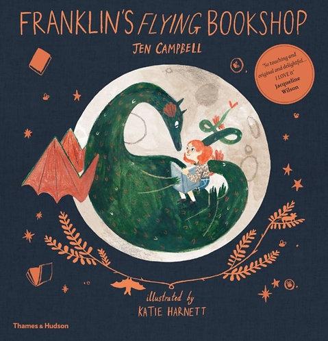 Franklin's Flying Bookshop by Jen Campbell & Katie Harnett
