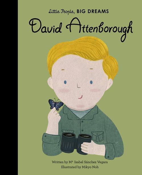 David Attenborough: Little People, Big Dreams by Maria Isabel Sanchez Vegara
