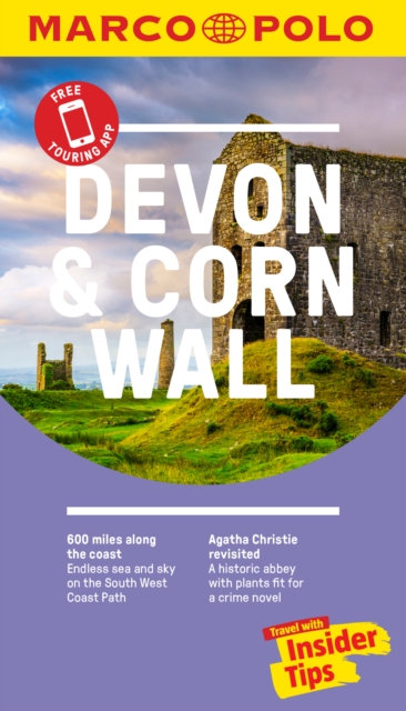 Devon and Cornwall Marco Polo Pocket Travel Guide - with pull out map