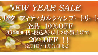 NEW YEAR SALE!!