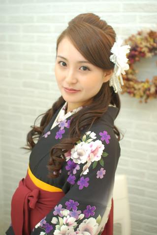 桜と卒業式!