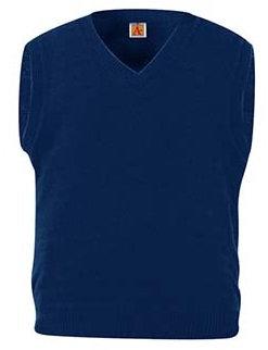 100% Cotton V-neck Pullover Sweater Vest