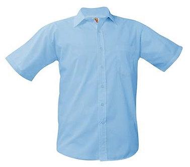 Short Sleeve Broadcloth Dress Shirt