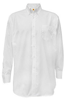 Long Sleeve Pinpoint Oxford Shirt