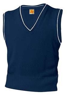 Varsity Pullover Sweater Vest