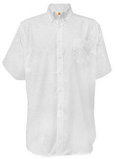 Short Sleeve Pinpoint Oxford Shirt