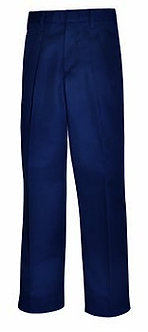 Pleated Twill Pants (Relaxed Fit)