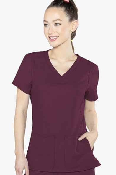 MedCouture Insight Side Pocket Top (2468)