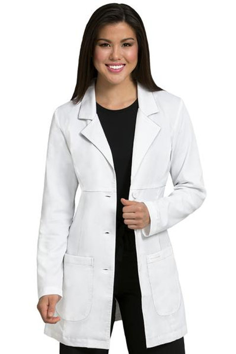 MedCouture Empire Mid Length Lab Coat (5601)