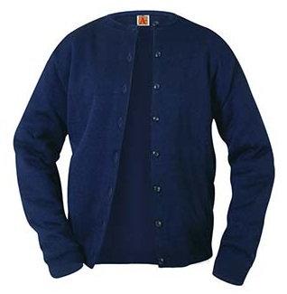 Female Fine Gauge Cardigan Sweater