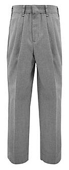 Tri-Blend Pleated Slacks (Relaxed Fit)
