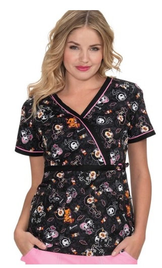 Koi Stretch Luna Tokidoki Top - Spooky Nights