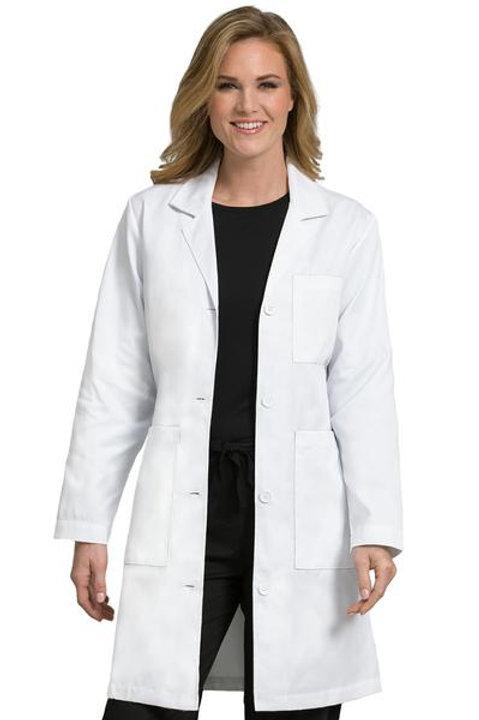 MedCouture 3 Pocket Length Lab Coat (8608)