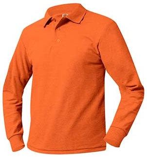 Long Sleeve Pique Knit Shirt