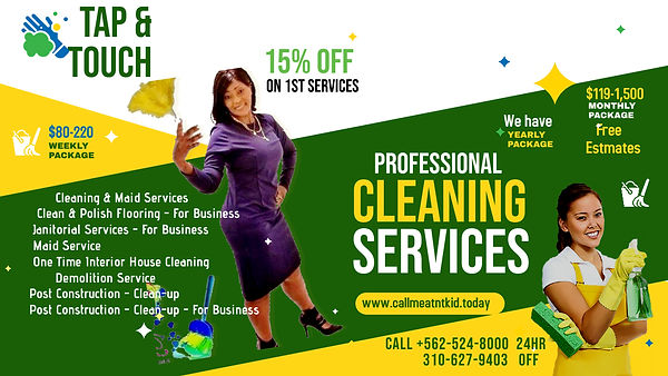 Copy of Cleaning Services Ads - Made wit
