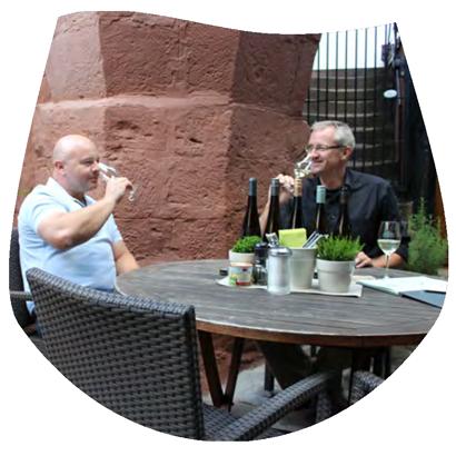 Michael Trefzer und Alexander Hoffmann