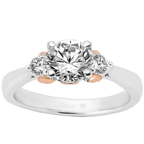 Past, Present & Future Clogau ring 1 carat centre Diamond