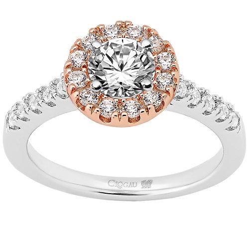 Love Divine Clogau ring 50 point Diamond
