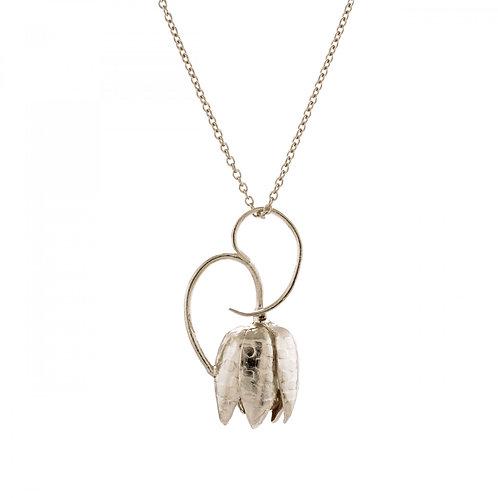 Fritillary Flower Necklace
