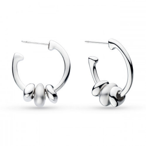 Coast Tumble Sandblast Trio hoop earrings