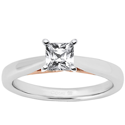 New Beginning Clogau ring 1ct Princess cut Diamond