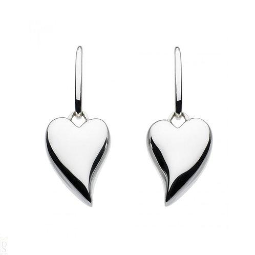 Desire forever lust heart drop earrings