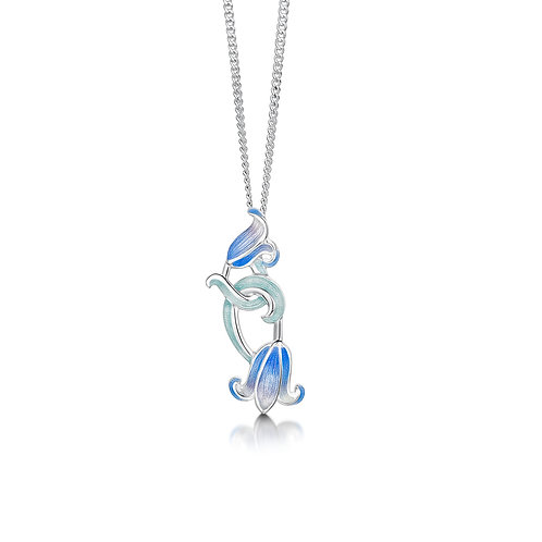 Double Bluebell pendant