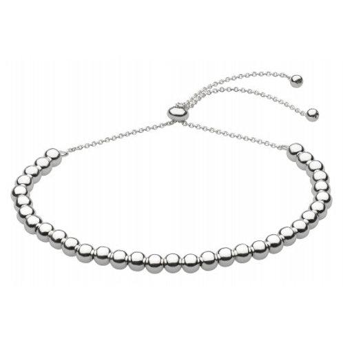 Multi Ball Silver Friendship bracelet