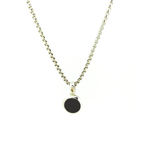 Garnet in Silver pendant