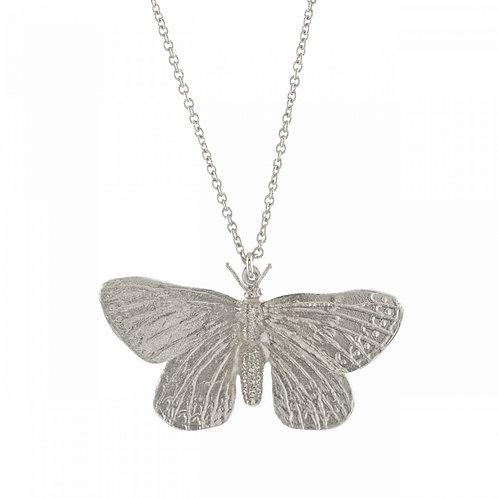 Duke of Burgundy Butterfly Necklace