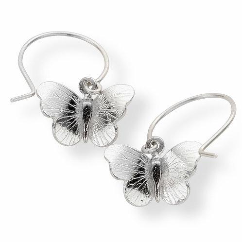 Enchanted Butterfly drop earrings