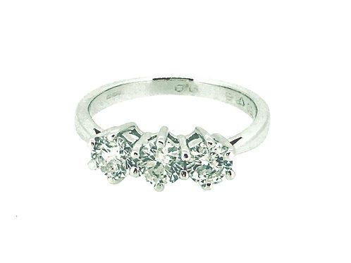 Diamond Trinity White Gold ring