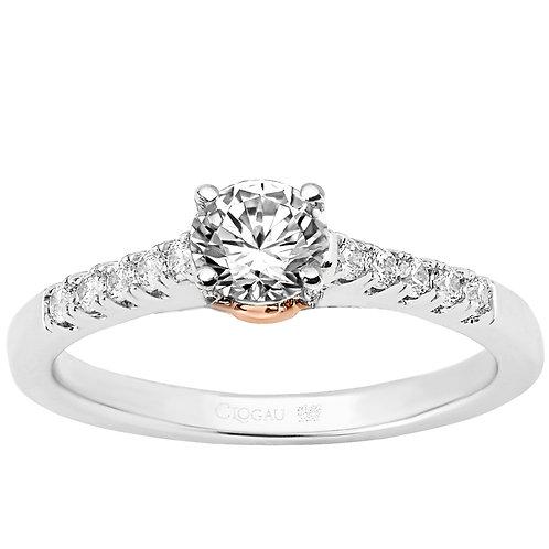 Timeless Love Clogau ring 50 point Diamond