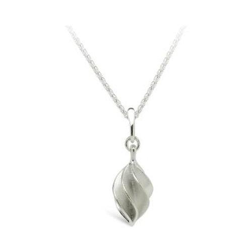 Verso medium silver pendant