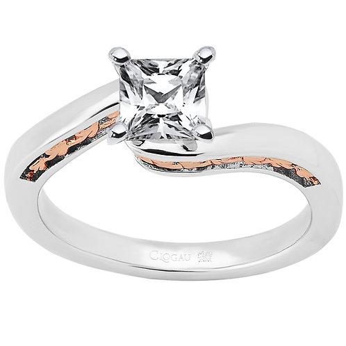 Forever Fairytale Clogau ring 50 point Princess cut Diamond