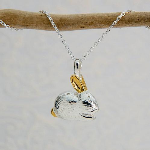 Benjamin Bunny silver pendant