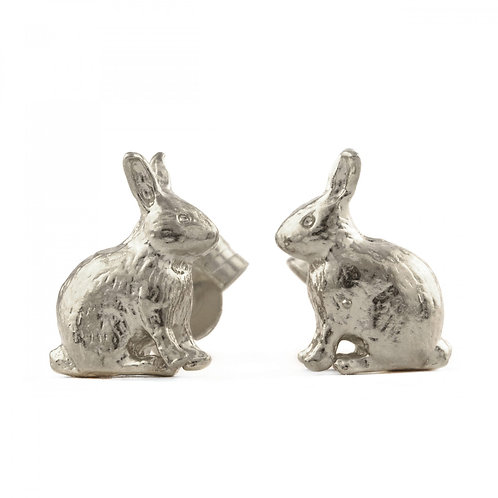 Sitting Bunny Stud Earrings