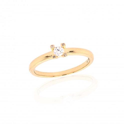 18ct Yellow Gold Les Etoiles Diamond Ring
