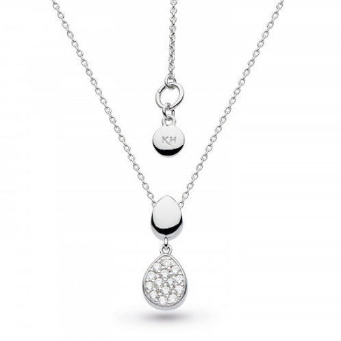 Coast Pebble Glisten CZ necklace