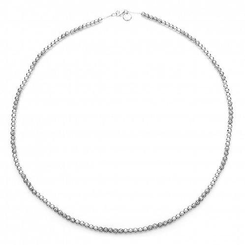 Globe mini bead necklace