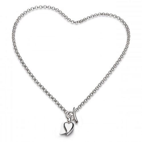 Desire Love Duet Heart necklace