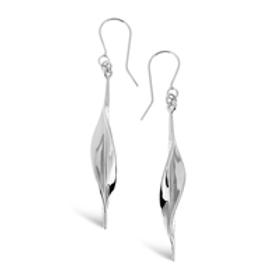 Mavilo slim leaf earrings