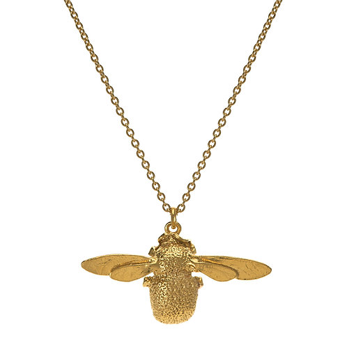 Bumblebee 22ct gold plated Pendant