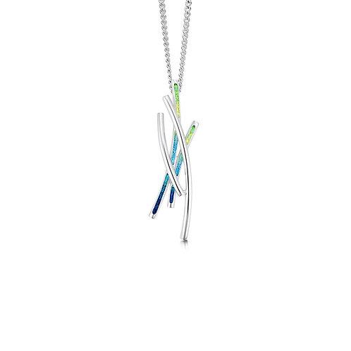 Wild grasses short pendant
